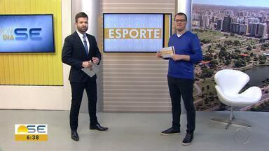Thiago Barbosa conta as principais notícias do esporte sergipano - Thiago Barbosa conta as principais notícias do esporte sergipano.