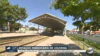 EPTV 40 anos: Estação Ferroviária é destaque em Louveira - No ano de aniversário de 40 anos da EPTV, conheça as cidades que integram a área de cobertura da emissora.