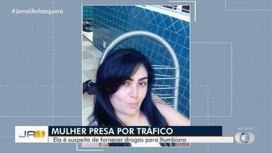 Suspeita de vender drogas em Itumbiara é presa em Minas Gerais - Ela foi encontrada em Uberlândia e ainda não foi transferida para Goiás.