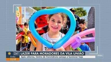 Centro de Convivência começa a funcionar nesta segunda-feira em bairro de Florianópolis - Centro de Convivência começa a funcionar nesta segunda-feira em bairro de Florianópolis