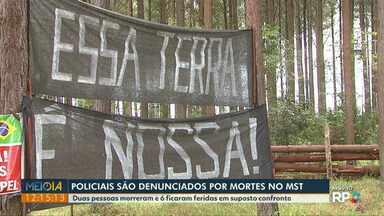 MP denuncia policiais por morte de integrantes do MST em Quedas do Iguaçu - Foi em um suposto confronto em abril de 2016.