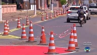 Alteração no trânsito da Rua Doutor Coutinho é adiada para terça-feira em Itapetininga - A alteração no trânsito da Rua Doutor Coutinho foi adiada para terça-feira (1º) em Itapetininga (SP).