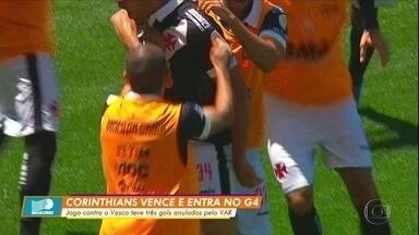 Gol de Ralf dá vitória ao Corinthians e coloca o time no G4 - Gol de Ralf dá vitória ao Corinthians e coloca o time no G4