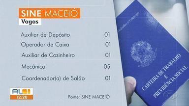 Sine Maceió divulga vagas de emprego disponíveis - Mais de 100 vagas estão a espera dos candidatos nesta segunda-feira (30).