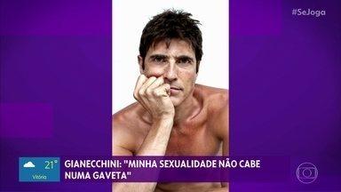 Reynaldo Gianecchini abre o jogo sobre sua sexualidade - 'A minha sexualidade não cabe em uma gaveta', diz o ator