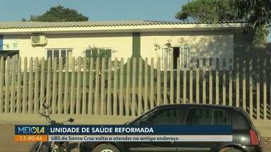 UBS do Santa Cruz volta a atender no antigo endereço em Cascavel - A Unidade de Saúde passou por reformas.