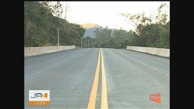 Serra da Rocinha é interditada para obras no Sul catarinense - Serra da Rocinha é interditada para obras no Sul catarinense