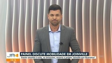 Painel discute mobilidade em Joinville - Painel discute mobilidade em Joinville