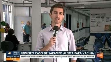 Secretaria de Saúde intensifica vacinação em todas as unidades de Joinville - Secretaria de Saúde intensifica vacinação em todas as unidades de Joinville