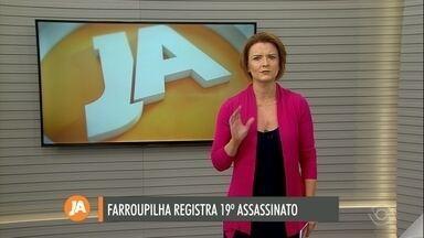 Homem é morto a tiros em Farroupilha - É o 19º assassinato registrado nesse ano no município.