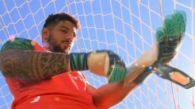 Juventude acerta a renovação com o goleiro Marcelo Carné - Atleta não sofreu gols em dez jogos durante a Série C.