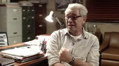 Paulo Gorgulho se vê desafiado com personagem em 'Segunda Chamada' - Confira a entrevista!