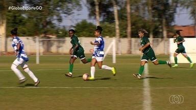Goiás goleia o Independente, de Rio Verde, por 17 a 0 no Goianão feminino - Equipe esmeraldina confirma amplo favoritismo e ganha na segunda rodada