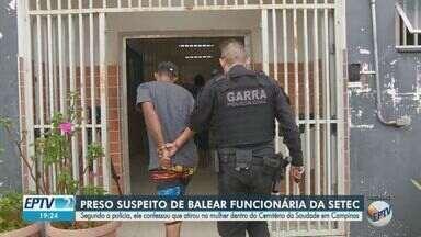 Polícia Civil prende suspeito de balear mulher dentro de cemitério de Campinas - Reginaldo Ferreira da Silva estava foragido desde 26 de agosto, e foi preso após investigação e negociação realizada por policiais do 5º DP.
