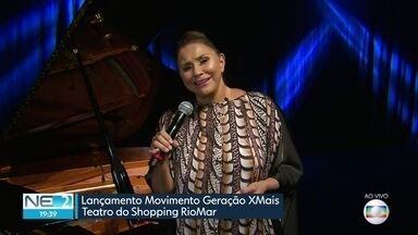 Fafá de Belém participa de evento que empodera pessoas com mais de 60 anos no Recife - Geração XMais reúne pessoas que ainda têm muito fôlego para viver.