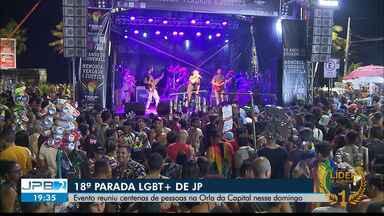 JPB2JP: 18ª Parada LGBT+ de João Pessoa - Evento reuniu centenas de pessoas na Orla da Capital nesse domingo.