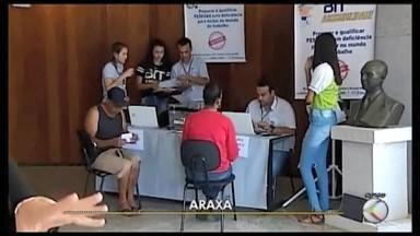 Araxá recebe feirão de empregos para pessoas com deficiência - Evento é promovido pelo Sistema Nacional do Emprego (Sine) em parceria com o Ministério da Economia.