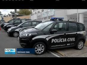 Polícia Civil recebe viaturas para reforçar trabalho investigativo em Governador Valadares - Foram entregues oito viaturas. Solenidade aconteceu no prédio da RISP.