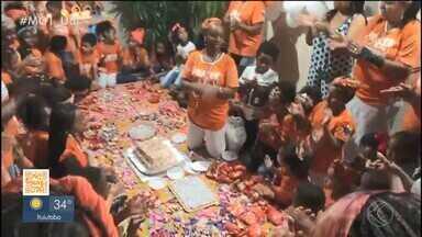 Congada: preparativos para a grande festa estão na reta final - Neste domingo foi realizado os últimos terço e leilão do Moçambique de Belém. Além disso, houve atividades diversos bairros da cidade.