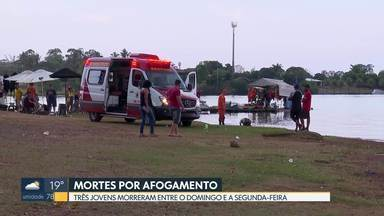 DF registra três mortes por afogamento em dois dias - Nesta segunda-feira (30), um homem, de 24 anos, morreu em Ceilândia.
