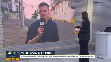 Seis suspeitos que tentaram matar motorista de aplicativo são identificados - Caso aconteceu em Caçapava do Sul e entre os suspeitos está um vereador da cidade.