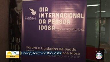 Dia da Pessoa Idosa tem serviços e orientação jurídica gratuita no Recife - Atendimentos acontecem na Universidade Católica de Pernambuco, na Boa Vista.