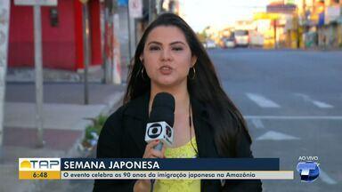 90 anos de imigração japonesa na Amazônia é comemorado em evento da Ufopa em Santarém - Evento acontece de 1 a 5 de outubro.