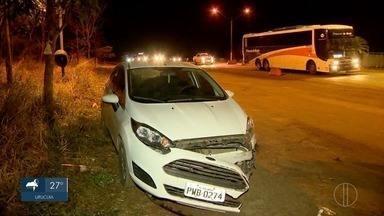 Acidente deixa quatro mortos e mais de 20 feridos na BR-365 em Patos de Minas - O acidente aconteceu com um ônibus, um caminhão e um carro de passeio. Motorista e passageiro do carro, com placa de Três Marias, foram presos. No ônibus, passageiros de Uberlândia viajavam para o Norte de Minas.