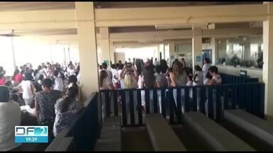 Visitas nos presídios do DF estão suspensas por greve de agentes - Nota da Secretaria de Segurança confirma cancelamento das visitas e das senhas já distribuídas.