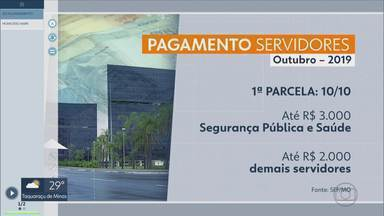 Governo divulga escala de pagamento de servidores - Governo divulgou a escala do mês de Outubro