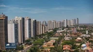 Confira a previsão do tempo para esta terça-feira (2) na região de Ribeirão Preto - Temperatura pode chegar aos 36ºC.