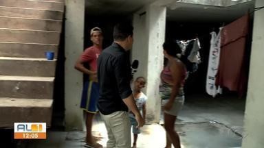 Prédio no Centro de Maceió vira abrigo para moradores de rua - Local já abrigou secretarias de estado e municipais.