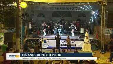 Porto Velho comemora 105 anos - Prefeitura de Porto Velho realiza festa no mercado cultural da cidade.