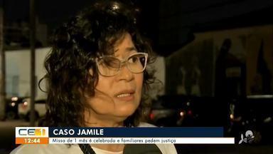 Missa de 1 mês de empresária morta é celebrada e familiares pedem justiça - Saiba mais no g1.com.br/ce
