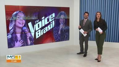 Lucia Muniz e Pollyana Caires disputam vaga na final do The Voice - Norte-mineiras fazem parte do time Lulu Santos.