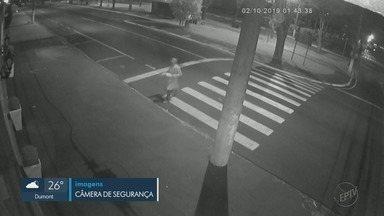 Ladrão de jaleco furta R$ 500 de sorveteria em Franca, SP - Homem invadiu estabelecimento na Avenida Santos Dumont e foi direto no caixa.