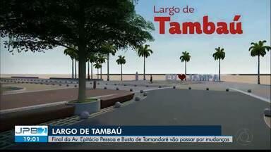 JPB2JP: Final da Av. Epitácio Pessoa e Busto de Tamandaré vão passar por mudanças - Largo de Tambaú.