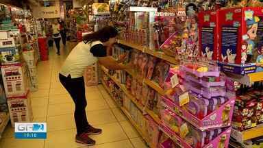 Lojistas esperam crescimento nas vendas para o dia das crianças - A data é comemorada no dia 12 de outubro