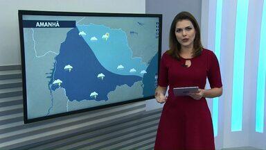 Temporal pode atingir a região Oeste e Sudoeste - O alerta é da Defesa Civil do Paraná. A chuva deve vir acompanhada de trovoadas e de vento que pode passar dos 60km/h.