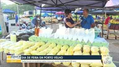 Saiba quais os produtos estão mais em conta na feira nesta época do ano - Dia de feira em Porto Velho