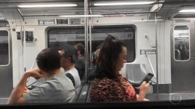 SP1 checa o sinal do celular no Metrô de SP - Na maioria das 5 linhas não dá pra fazer ligação nem acessar a internet