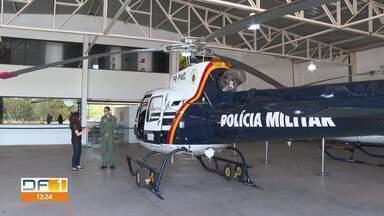 Perseguição cinematográfica envolveu pouso de helicóptero no centro da capital - Suspeitos eram acusados de invadir Embaixada do Iraque.