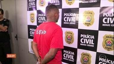 Após dois anos de investigação, chefe de quadrilha é preso em Betim (MG) - Depois de dois anos de investigação, a polícia prendeu em Betim, Minas Gerais, o chefe de uma quadrilha. Ele é suspeito de pelo menos 12 assassinatos. Segundo a Polícia Militar, desde 2017, a gangue que ele comandava provocou 20 mortes.