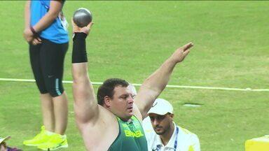 Darlan Romani busca medalha inédita no arremesso de peso no Mundial de Atletismo - Darlan Romani busca medalha inédita no arremesso de peso no Mundial de Atletismo