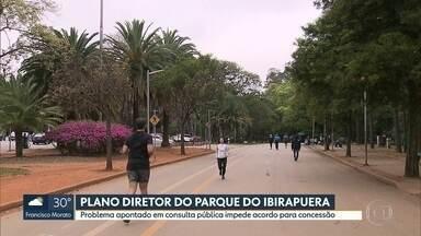 Plano Diretor do Parque Ibirapuera é tema de audiência de conciliação em SP - Debate sobre condições de privatização do Ibirapuera continua em São Paulo