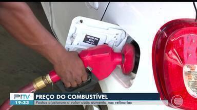 Postos de Teresina ajustam preços dos combustíveis após aumento em refinaria - Postos de Teresina ajustam preços dos combustíveis após aumento em refinaria