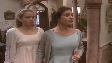Capítulo de 21/02/1997 - O barco em que Zé Leandro, Eulália e Helena fogem afunda e Teobaldo não consegue salvar a todos. Pedro Afonso renega a irmã. Teobaldo vai à casa de Pedro Afonso.