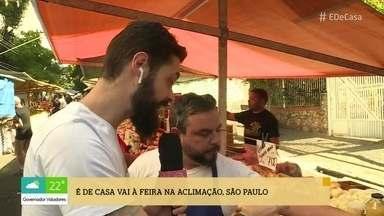 Repórteres vão à feira atrás de variedades de alho - Cauê Fabiano e Luiza Zveiter conversam com os feirantes e mostram os preços das variedades de alho no Rio e em São Paulo