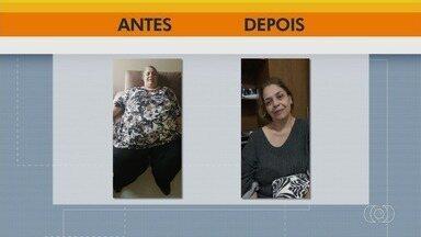 Bancária perde 125 kg e melhora a saúde em Goiânia - Confira a história dela.
