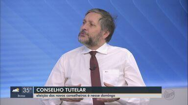 Promotor explica quais são as atribuições de um conselheiro tutelar; eleição é no domingo - Processo varia de cidade para cidade, mas data da votação é uma só.